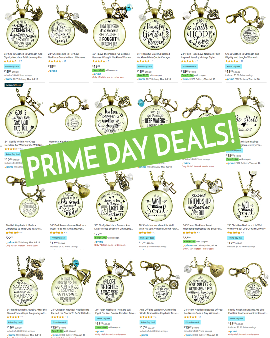 Prime Day Deals 2019 Gutsy Goodness Jewelry