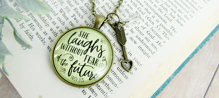 Gutsy Goodness Jewelry Mother Daughter Love Necklace