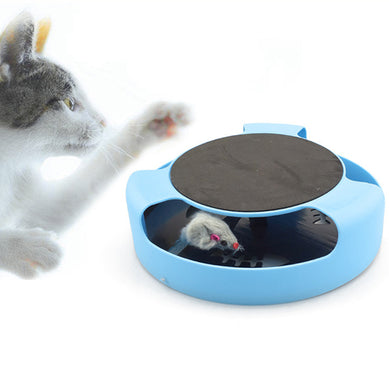 Cat And Mouse Cat Toy Cat Toy Cat Scratch Turnplate