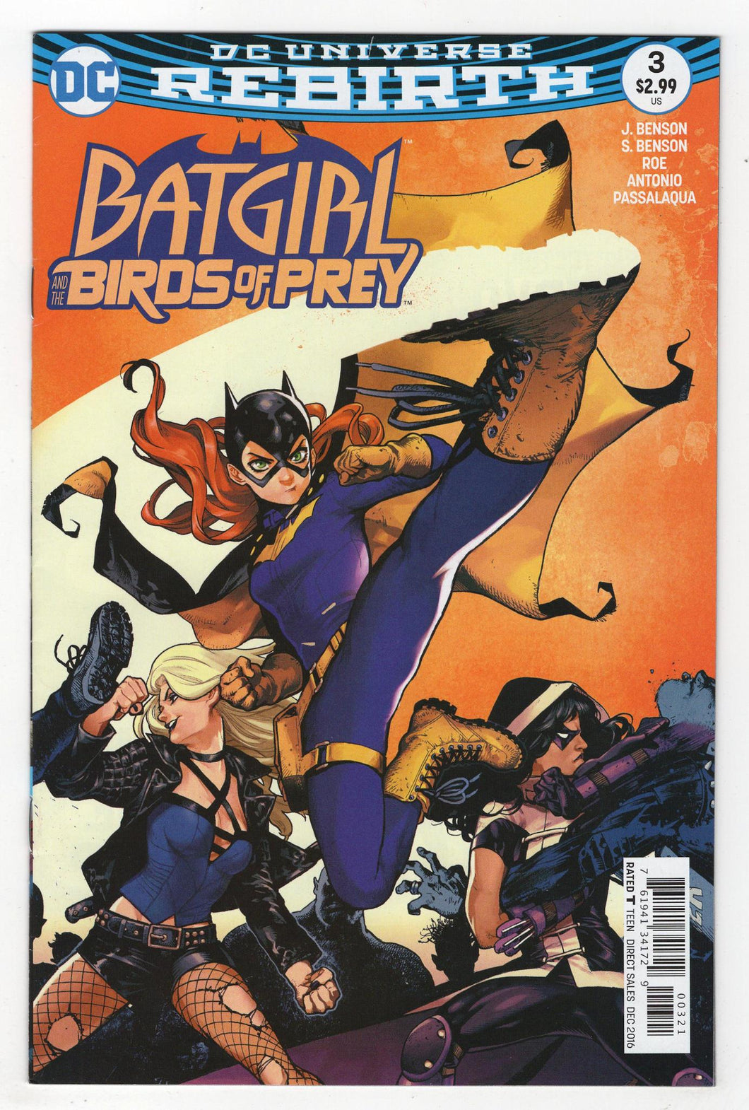 Batgirl and the Birds of Prey #3 Variant Cover Front