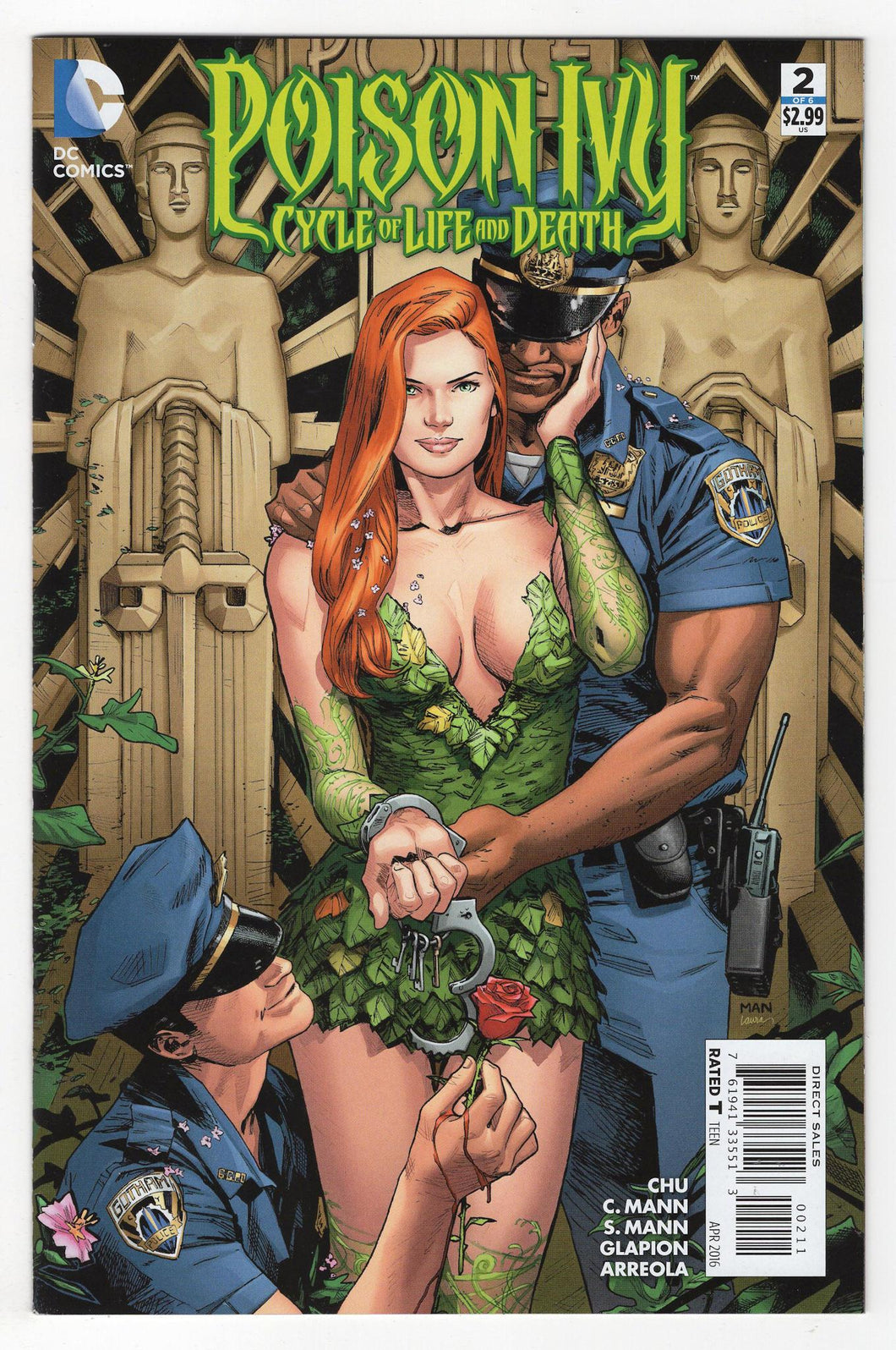 Poison Ivy Cycle of Life and Death #2 Cover Front