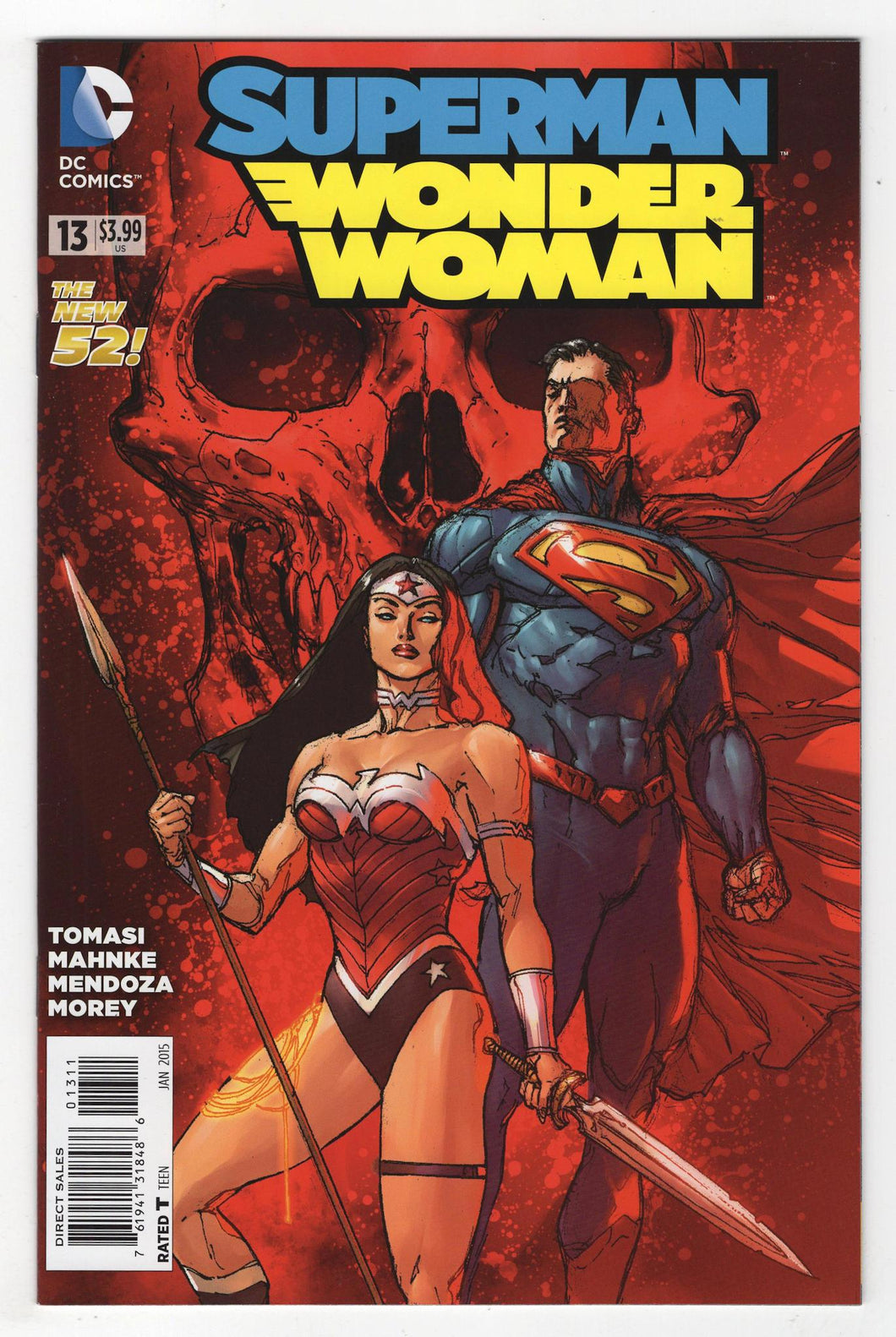 Superman Wonder Woman #13 Cover Front