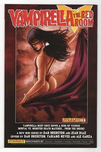 Vampirella vs Dracula #1 Cover Back