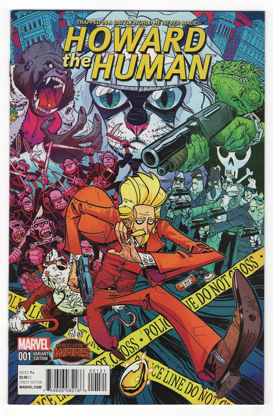Howard the Human #1 Variant Cover Front
