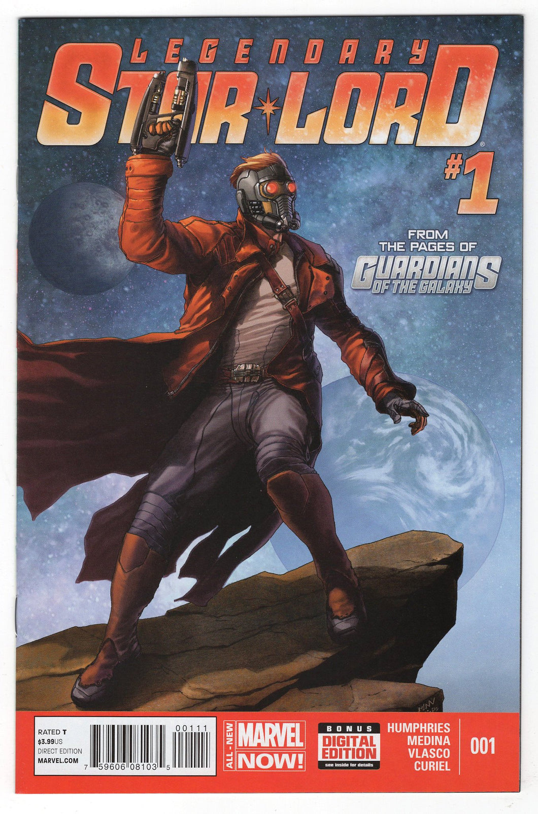 Legendary Star Lord #1 Cover Front