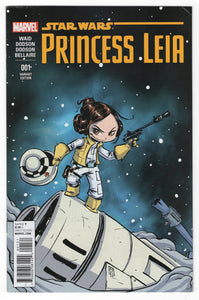 Star Wars Princess Leia #1 Young Variant Cover Front