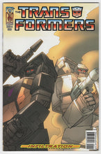 Transformers Infiltration #1 Cover Front