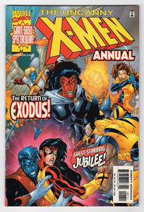 Uncanny X-Men Annual 1999 Cover Front