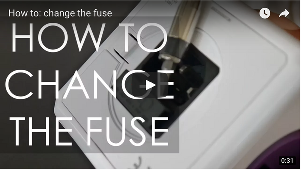 How to: Change the fuse