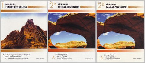 French- Building on Firm Foundations 3 Volume Set (Print)