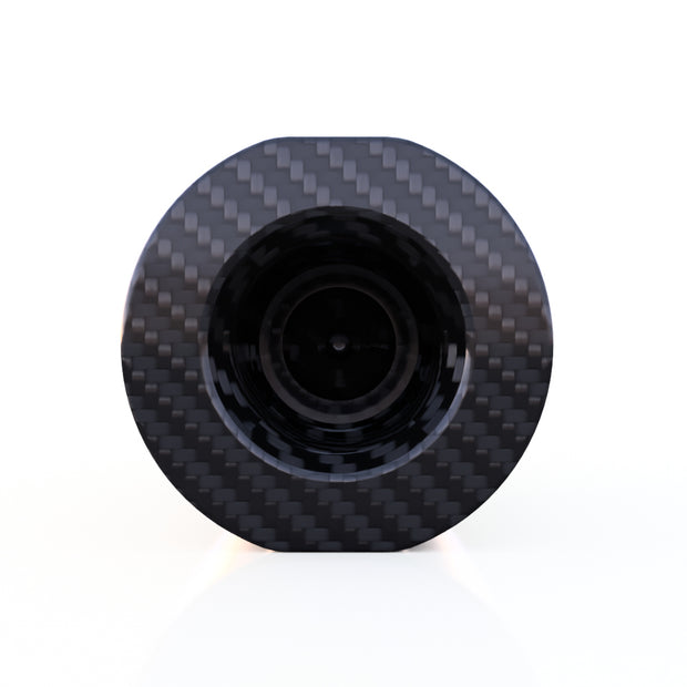 6mm Round Male Thread Fitting Composite Connector - (2.0 Grams) PN 708744108111 - Overnight Composites