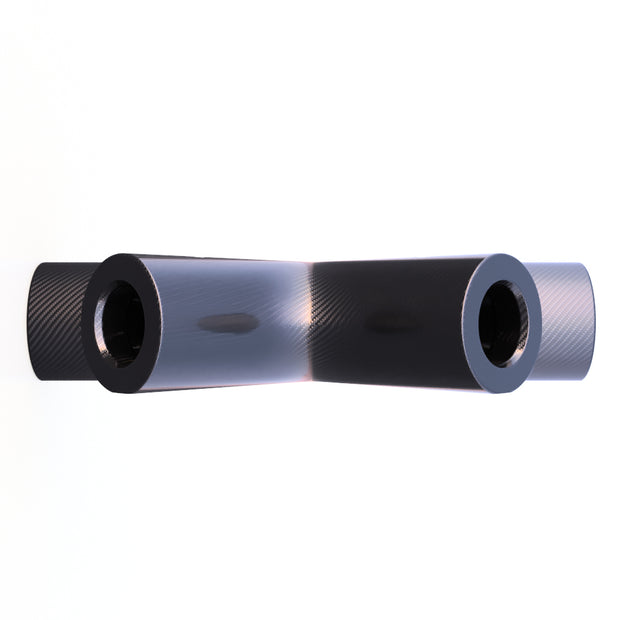 10mm Round 3 - Way Pyramid Internal Composite Connector (4.84 Grams) - PN 708744110008 - Overnight Composites