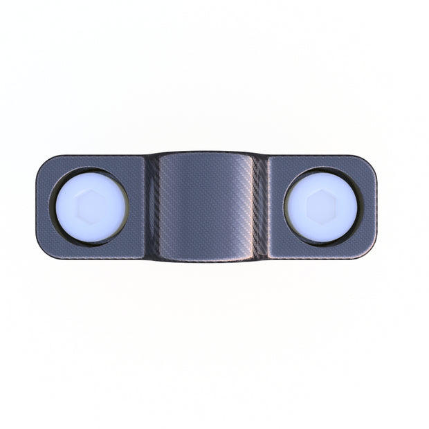 10mm Round Mounting Collar Composite Connector (2.0 Grams) - PN 708744108388 - Overnight Composites