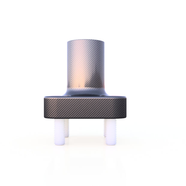 10mm Round Vertical Mount Composite Connector (11.0 Grams)  - PN 708744108487 - Overnight Composites