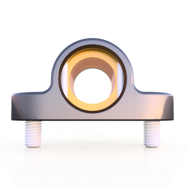 20mm Round Pillow Block Bearing Assembly (20.0 Grams) - PN 708744108746 - Overnight Composites