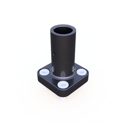 20mm Round Vertical Mount Composite Connector (27.0 Grams)  - PN 708744108791 - Overnight Composites