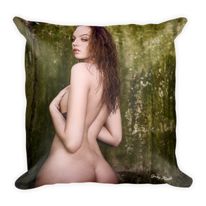 """Envy"" Throw Pillow by Gaby Alana"