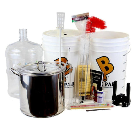 Brewer's BEAST® Beer Brewing Equipment Kit w/ PET Carboy