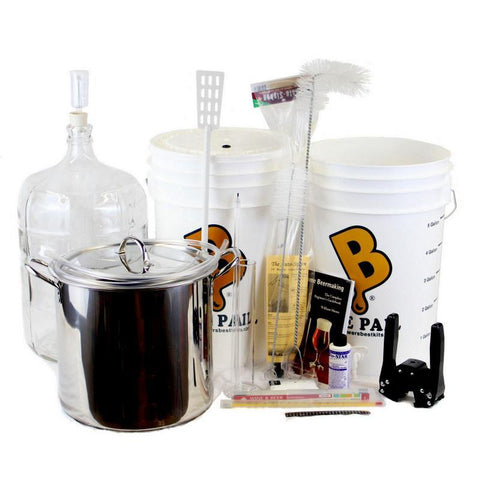 Brewer's BEAST® Beer Brewing Equipment Kit w/ Glass Carboy