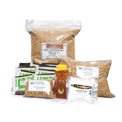 Hopslam Ale Clone Inspired Homebrewing All Grain Ingredient Kit