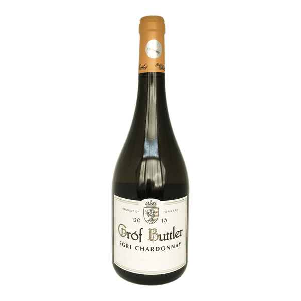 Grof Buttler, Egri Chardonnay wine bottle