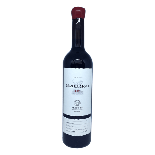 Mas La Mola Priorat wine bottle