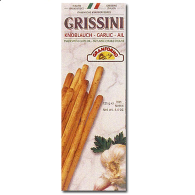 Grissini Garlic Breadsticks 125gr