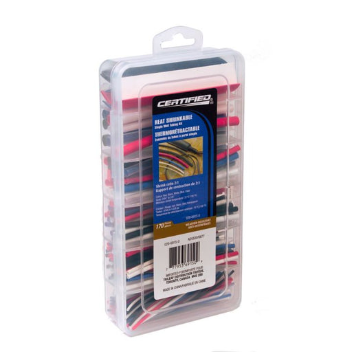 170-pc Single Wall Heat Shrink Assortment