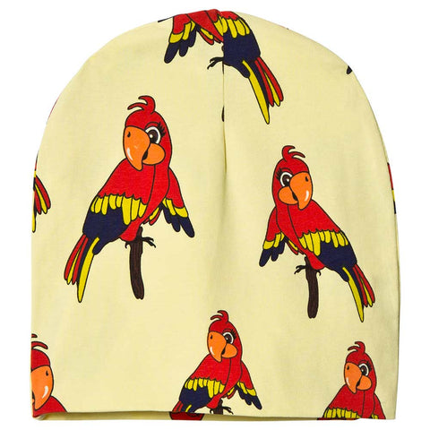Parrot Beanie - Yellow