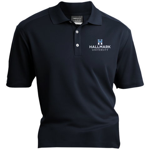 Hallmark University Logo Nike® Dri-Fit Polo Shirt in Navy