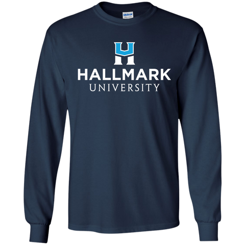 Hallmark University Logo Long Sleeve Shirt