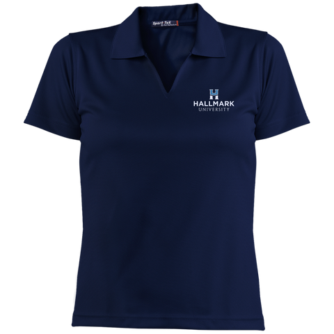 Hallmark University Ladies' Dri-Mesh Short Sleeve Polo