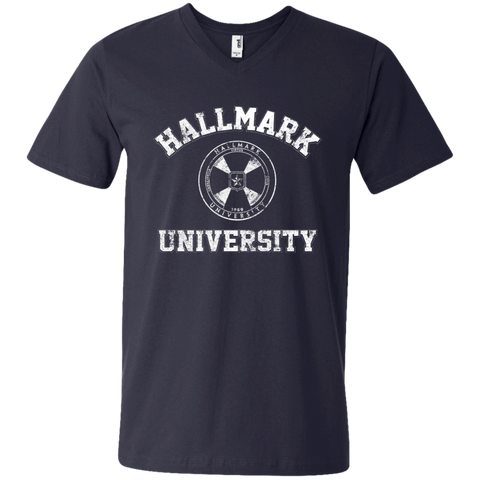 Hallmark University Seal Men's V-Neck T-Shirt