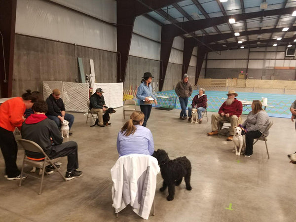 202 - Beginner Obedience Class  Instructors: Susie Stout, Ace Russell