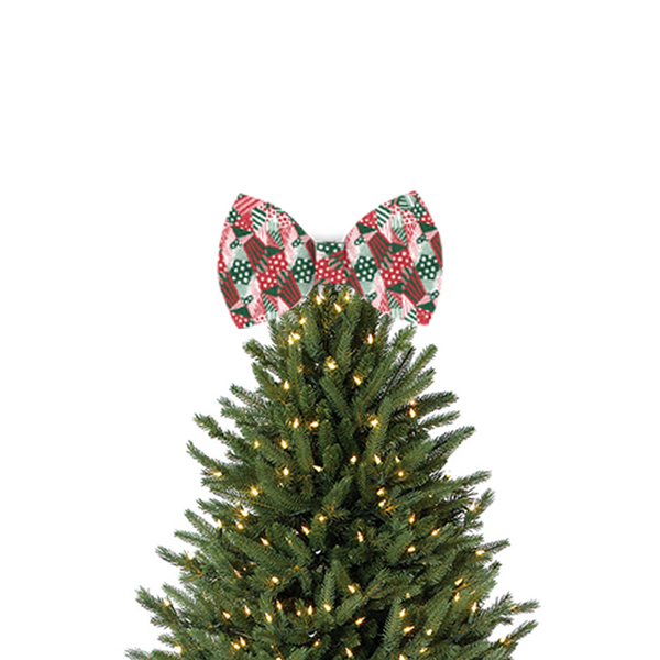 Tree Topper Bow