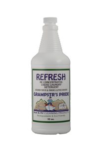 REFRESH - HE Concentrated Liquid Laundry Detergent - Case: 12 Quarts