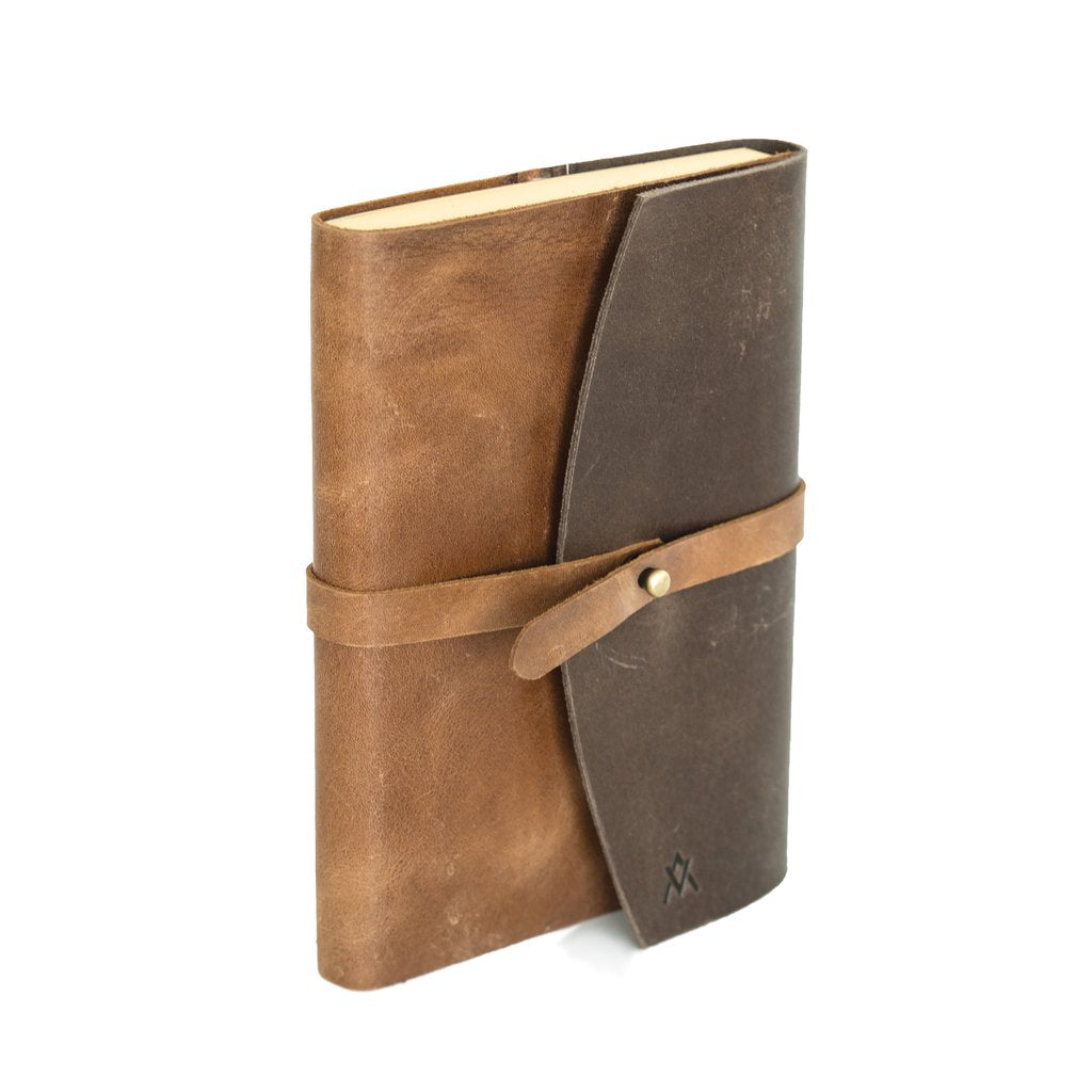 Leather Single Wrap Journal
