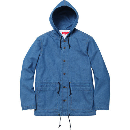 Supreme Hooded Denim Parka