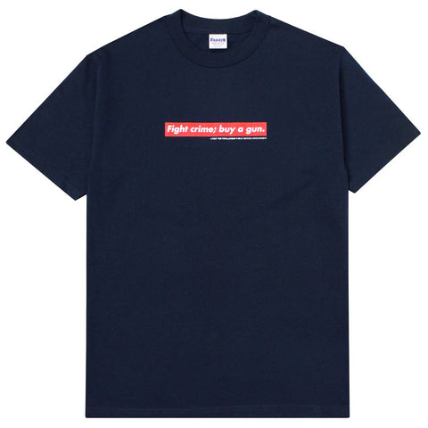 FTP x Fuct Fight Crime Tee Navy
