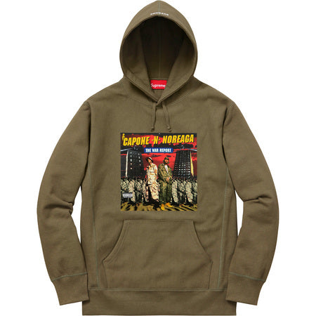 Supreme The War Report Hooded Sweatshirt Olive