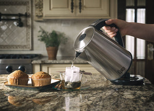 Electric Kettle | 6-Temperature Settings | Stainless Steel