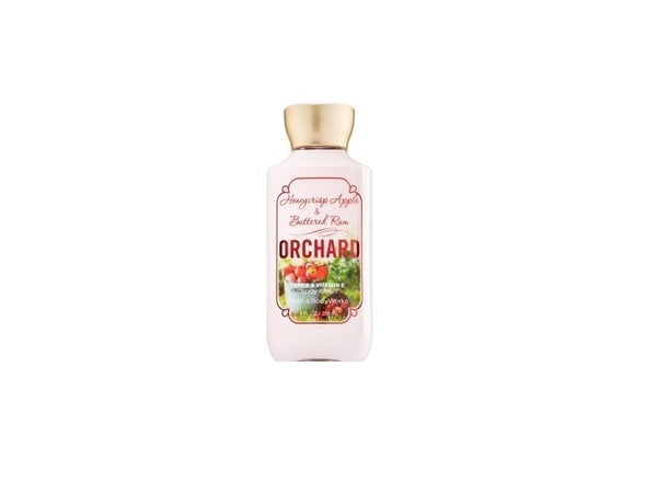 Bath & Body Works Honeycrisp Apple & Buttered Rum Orchard Body Lotion, 8 Oz