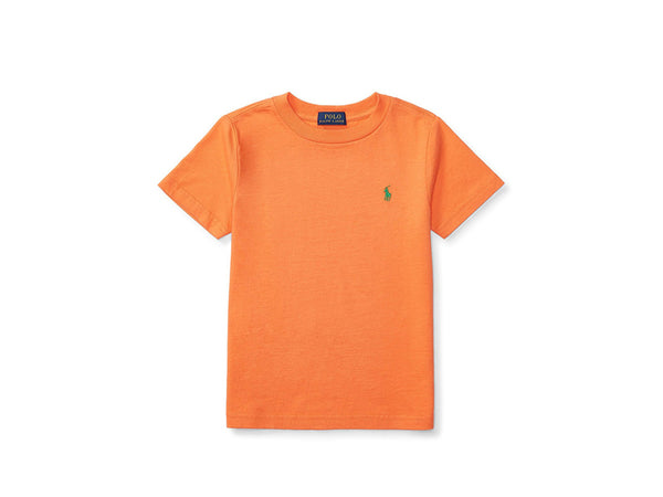 Ralph Lauren Kids Short Sleeve T-Shirt - May Orange
