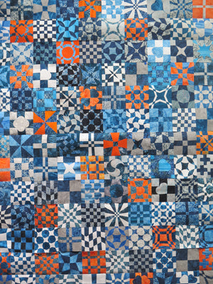 Interlaced Patchwork with Gillian Travis for Beginners plus 10am to 4pm September 17th (Sewing Machine Required)