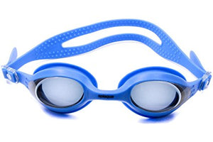 Splaqua Tinted Prescription Swimming Goggles (Blue, -3.5)