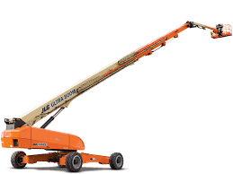 Telescoping Boom Lift - 125 Ft. Construction Equipment Rental Project