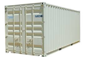 Storage Container - 20 Ft. Construction Equipment Rental Project