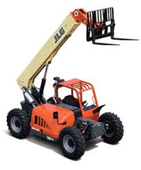 Reach Forklift -  6000 Lb - 36-42 Ft Reach Construction Equipment Rental Project
