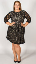 Brisbane Black Lace Dress