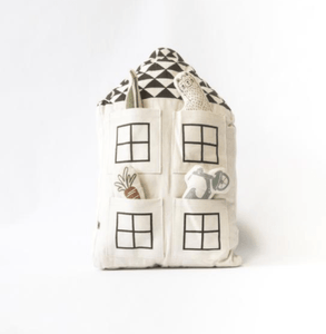 stuffed pillow house toy